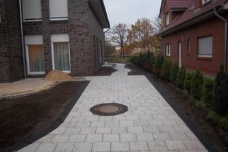 terrasse und garage in hannover - atila türegün garten- und, Gartenarbeit ideen